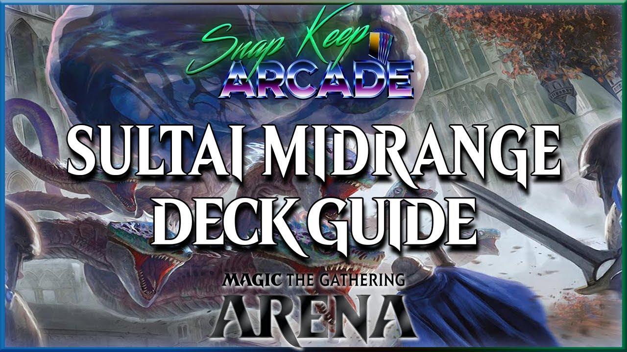 Sultai Midrange | Standard Deck Guide | MTG Arena