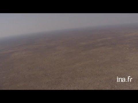 Botswana, Makgadikgadi pan : graphisme désert de sel