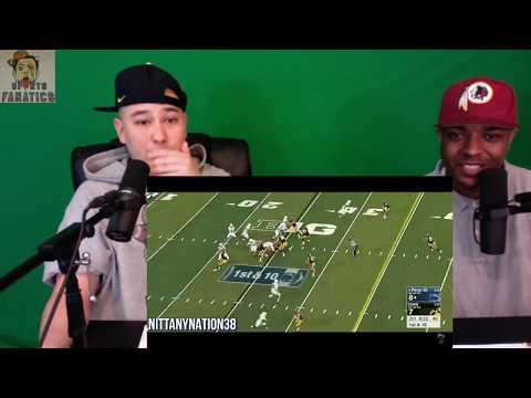 Saquon Barkley Career Highlights   Reaction