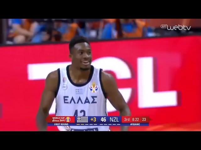 Thanasis Antetokounmpo highlights | Greece VS New Zealand - FIBA World Cup