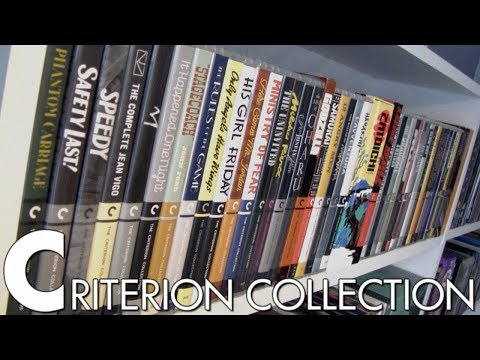 My Entire Criterion Blu-ray Collection - August 2018