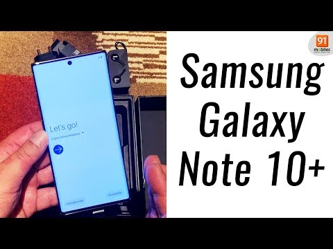 Samsung Galaxy Note 10+: Unboxing | Hands on | Price