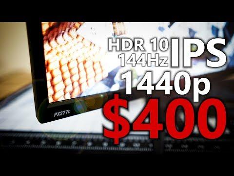 Смотрите сегодня Pixio PXC32 1440p Freesync Monitor Review