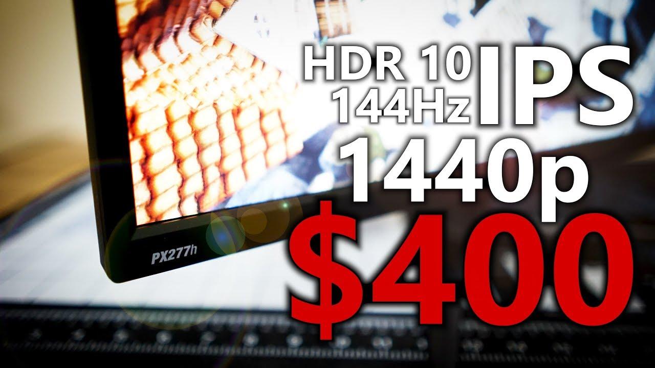Cheap AF or Killer Bargain? Pixio PX277h Review