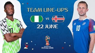 Download Video LINEUPS – NIGERIA V ICELAND - MATCH 24 @ 2018 FIFA World Cup™ MP3 3GP MP4
