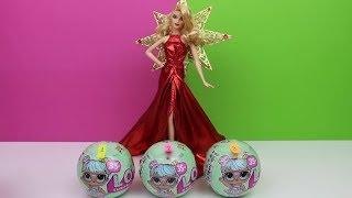 YOUTUBE YILBAŞI PARTİSİNE HANGİ LOL BEBEK GİDECEK? ( Barbie ve L.O.L. Sürpriz Bebek) Bidünya Oyuncak