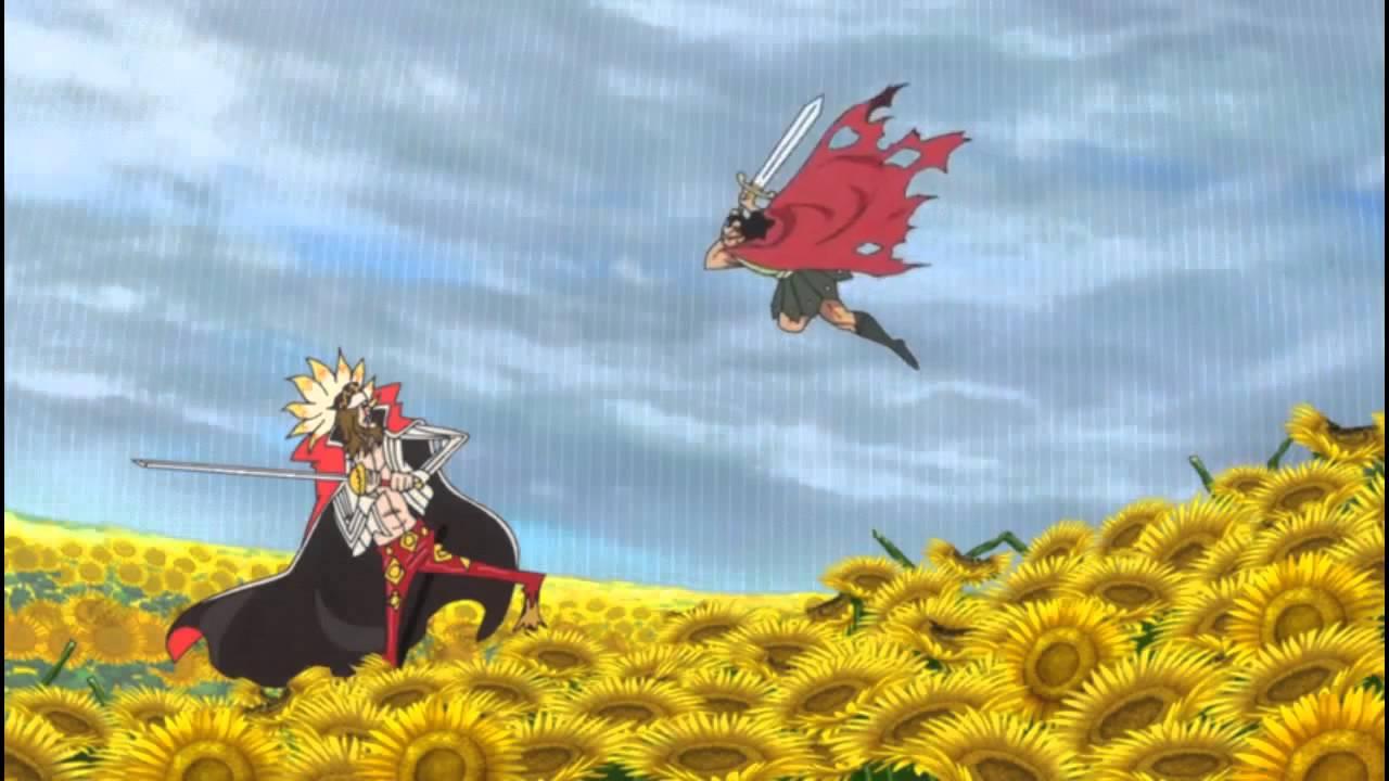 One Piece Kyros vs Diamante Finisher 717 (HD) EPIC! - YouTube