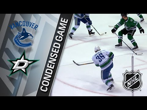 03/25/18 Condensed Game: Canucks @ Stars