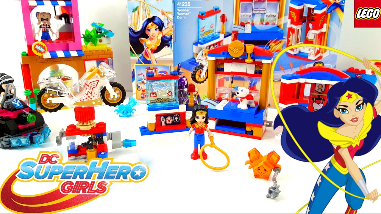 Lego DC Super Hero Girls Wonder Woman Dorm 2017 Building ...