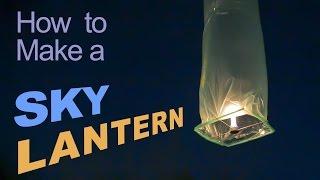 How to Make a Sky Lantern