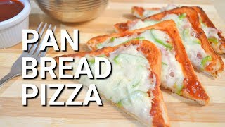 Bread Pizza | Easy Pizza Recipe | No Oven Bread Pizza