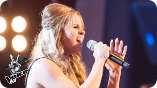 Mia Sylvester performs 'Who's Loving You': Knockout Performance - The Voice UK 2016