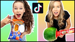WE TESTED VIRAL TiĸTok LIFE HACKS!! **THEY WORKED**
