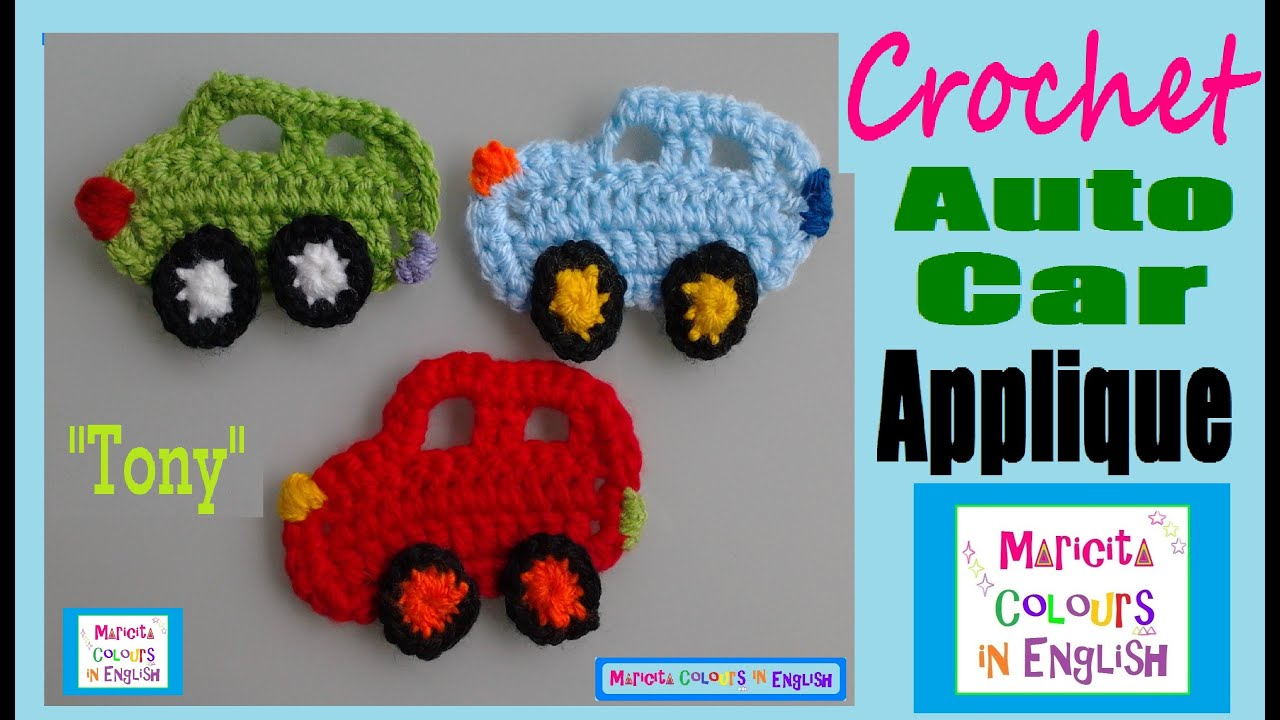 Free Crochet Patterns For Your Car : Cars Auto