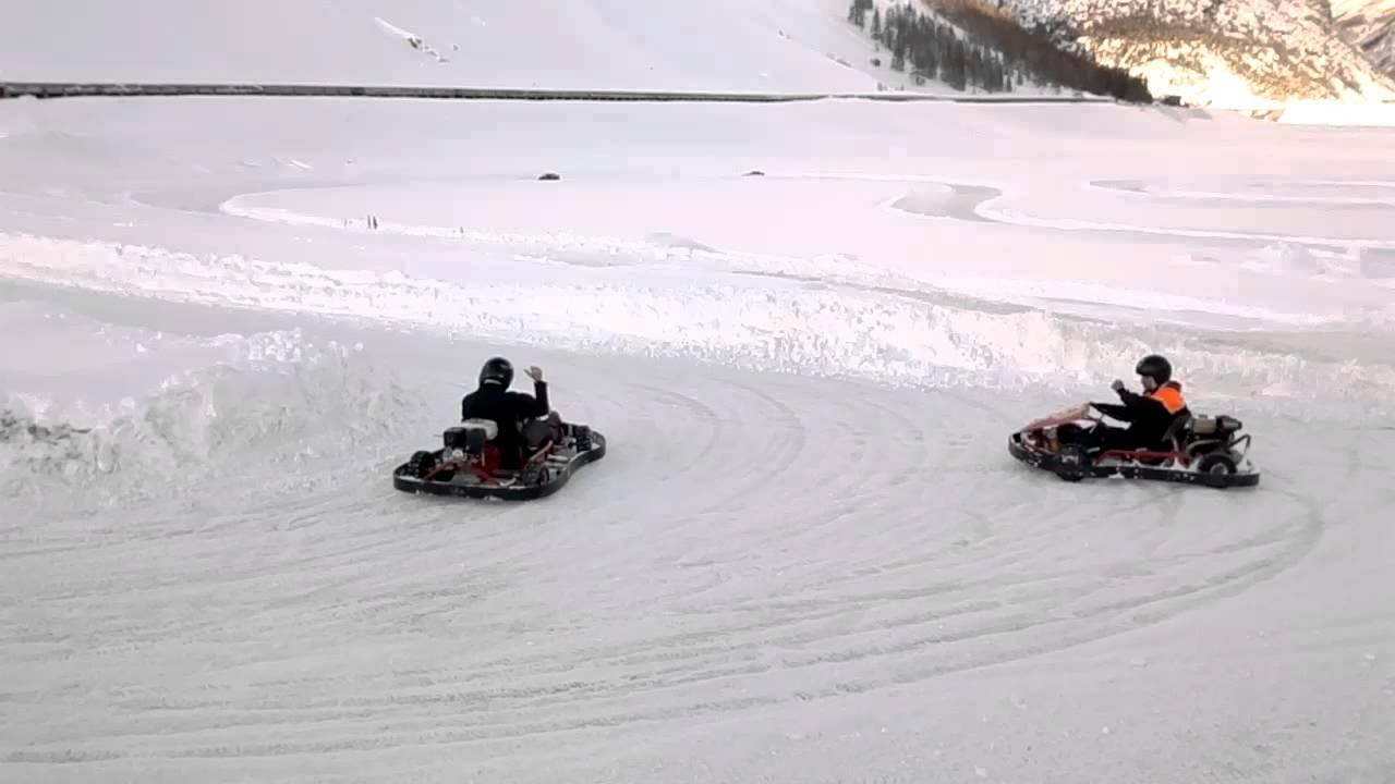 livigno kart Kart su ghiaccio Livigno 21/01/12 part.3   YouTube