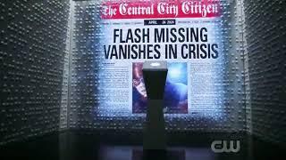 CW Flash 5x22 SEZON 5 FİNALİ SON SAHNE.