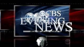CBS Evening News Evolutions 2016 MAY 31