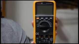 Профессиональный мультиметр ALEX 97 краткий обзор