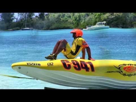 Power Boat Racing at Ferry Reach Bermuda, July 9th, 2017 HD.