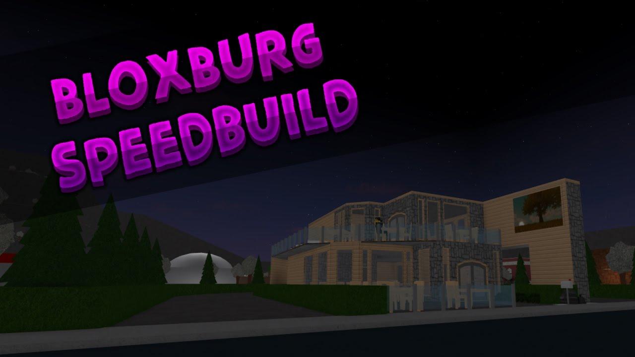 BloxBurg: Fast Food Restaurant Speed-build - YouTube