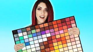 Die größte DROGERIE Lidschattenpalette 😱 200 Lidschatten von Makeup Revolution *Ja ist clickbait*