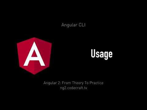 Angular CLI • Angular