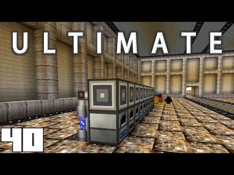 Minecraft Mods FTB Ultimate - AUTOMATIC SMELTING !!! [E40] (HermitCraft Modded Server)