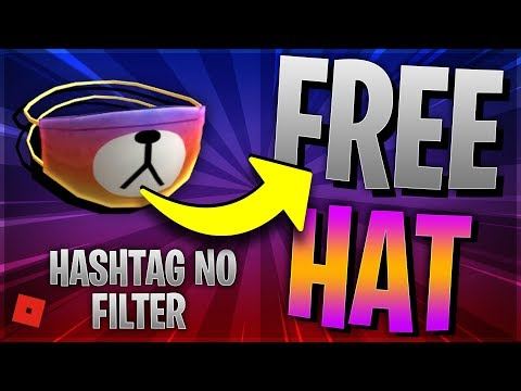 ROBLOX INSTAGRAM EVENT! FREE Promo Code for HASHTAG NO FILTER! (Roblox FREE BEAR MASK + TOYCODE)