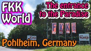 "[German <b>FKK</b>] The entrance to the above-ground paradise ""<b>FKK</b> ..."