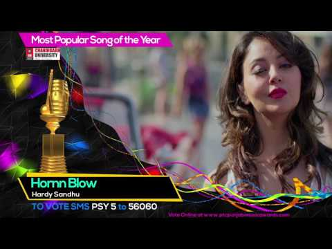 Most Popular Song of the Year | Nominations | PTC Punjabi Music Awards 2017 | 23 March