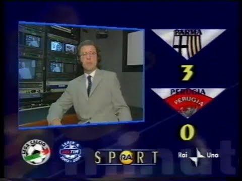 2003-04 (2a - 14-09-2003) Parma-Perugia 3-0 [M.Bresciano,Adriano(R),Gilardino] Servizio 90°Rai1