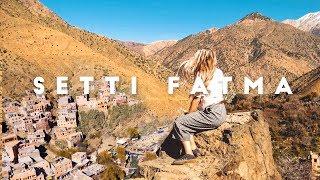 Setti Fatma 7 Cascades Waterfall // Morocco 2019 Travel