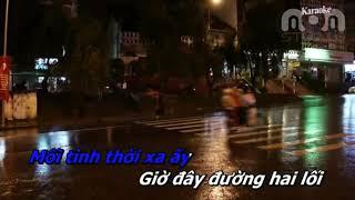 Mưa Đêm Tỉnh Nhỏ karaoke thiếu giọng nam ( song ca cùng Hoàng Yến Bolero)