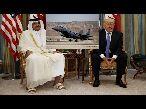 America is giving war to Qatar