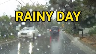 Rainy Morning Drive in Los Angeles | Dash Cam California Morning Drive