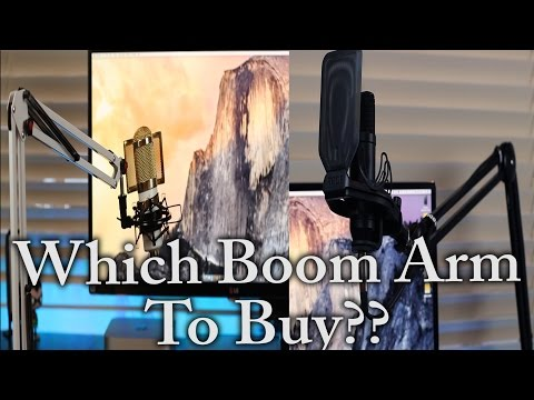 Which Boom Mic Arm To Buy