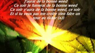 Tairo   Bonne weed paroles