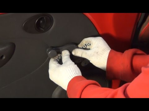 как снять ручку стеклоподъемника на киа сид 2007