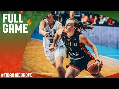 Serbia v Belgium - Live - Final - FIBA U18 Women's European Championship 2017