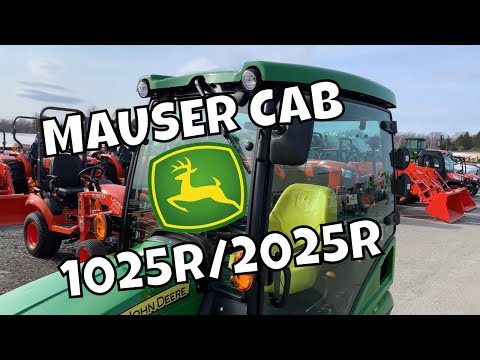 Mauser Cab for JD Compacts! - YouTube