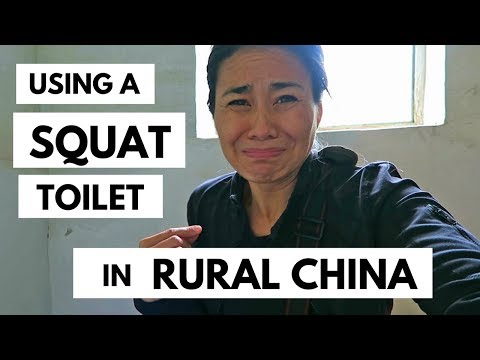 HOW TO USE ASIAN SQUAT TOILETS #2 | A China Toilet