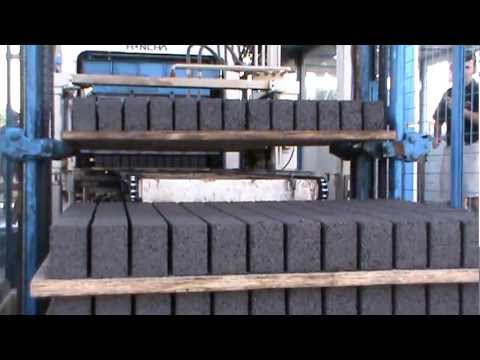 Cement Brick Machine ( Production Process )