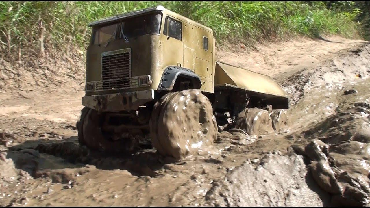Rc Off Road Scale Truck 6x6 Mud Diggers Tamiya Semi