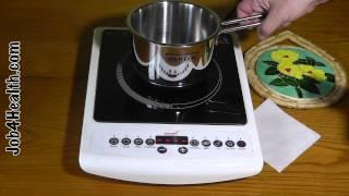Видео отзыв на настольную индукционную одноконфорочную плиту HILTON EKI 3891(, 2014-12-14T05:24:32.000Z)