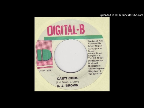 Aj Brown - Can't Cool (2000)