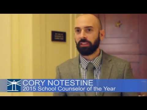 2015 School Counselor of the Year  Cory Notestine on results in Alamosa High School, Colo.