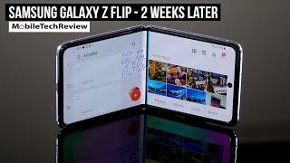 Samsung Galaxy Z Flip 2 Weeks Later
