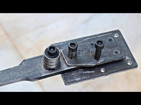 Make A Metal Bender || Homemade DIY Tool
