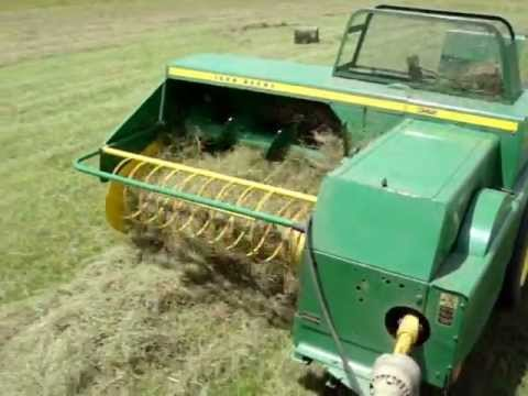 john deere 300 lanz and john deere baler 342 youtube. Black Bedroom Furniture Sets. Home Design Ideas