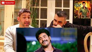 Kaaki Sattai Trailer Reaction | Sivakarthikeyan, Sri Divya | Durai Senthilkumar | Anirudh